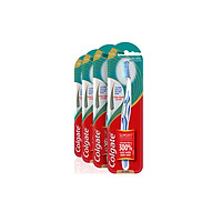 Bộ 4 bàn chải đánh răng Colgate Slimsoft Advanced lõi kép siêu mềm mảnh (Màu ngẫu nhiên)