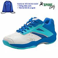 Giày cầu lông kawasaki K088 chính hãng dành cho cả nam và nữ, chuyên nghiệp chống lật cổ chân- tặng túi rút thể thao chống thấm