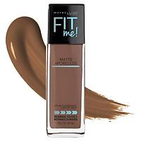 Maybelline Fit Me Matte & Poreless Mattifying Liquid Foundation - Nutmeg 365
