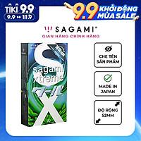 Bao cao su Sagami Spearmint - Hương bạc hà - Hộp 10 chiếc