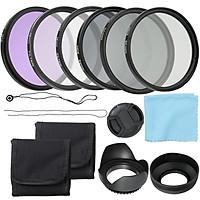 Máy ảnh chuyên nghiệp có bộ lọc ống kính UV CPL FLD và bộ lọc mật độ trung tính Altura Photo ND