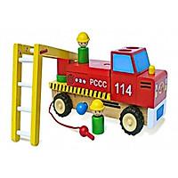 Xe Thang Lắp Ráp Mk - Đồ chơi gỗ