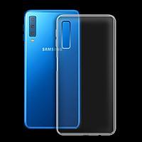 Ốp lưng cho Samsung Galaxy A7 2018 - A750 - 01029 - Ốp dẻo trong - Hàng Chính Hãng