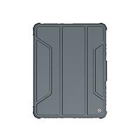 Bao da dành cho iPad Pro 11 inch (2021) M1 có nắp bảo vệ camera Nillkin Bumper Leather -  Hàng chính hãng