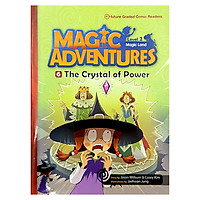 Graded Comic Readers, Magic Adventure.2-6-The Crystal Of Power + ACD
