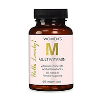 Multivitamin for Women Extra Strength Daily Vitamins with Biotin 1000mg - Natural Supplement - Made in USA - Best Vitamins A B C D E, Calcium, Zinc, Magnesium, Folic Acid - 60 Capsules