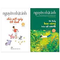 Combo 2 cuốn truyện hay nhất của tác giả Nguyễn Nhật Ánh: Chúc Một Ngày Tốt Lành + Tôi Thấy Hoa Vàng Trên Cỏ Xanh ( Tặng kèm Postcard Happy Life)