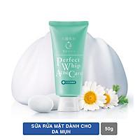 Bộ đôi Senka sạch mụn hỗ trợ trị thâm (Sữa rửa mặt hỗ trợ trị mụn Senka 100g + Serum Senka dưỡng trắng da 35g)