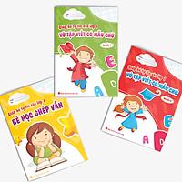 Combo Cùng bé Tự tin vào lớp 1: Tập viết (3 cuốn)
