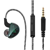 Tai nghe QKZ AK9 kiểu dáng thời trang, Bass mạnh có micro và tăng giảm âm lượng - Hàng chính hãng