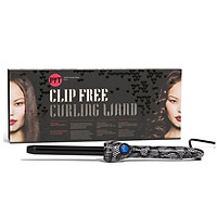 Máy Uốn Tóc PYT Clip Free Curling Wand 19mm - Họa Tiết Ren - Tặng Kèm Găng Tay Chịu Nhiệt