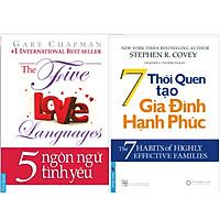 COMBO Thấu Hiểu (5 ngôn ngữ tình yêu + 7 thói quen tạo gia đình hạnh phúc) Tái bản 2020