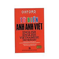 Từ điển Oxford Anh anh việt bìa đỏ ( tặng sổ tay Từ vựng trình độ A)