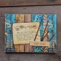 Scrapbook Album Ảnh Tự Trang Trí Handmade