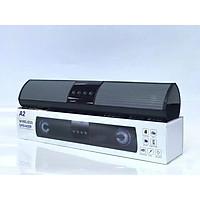 Loa bluetooth speaker LANITH A2 dáng dài 2 loa cực đỉnh – Tặng kèm dây sạc 3 đầu - Kiểu dáng sang trọng hỗ trợ thẻ nhớ, đài FM - Hàng nhập khẩu – LWR000A2.CAP001