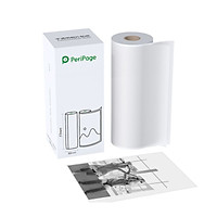 PeriPage 77 x 30mm Translucent Photo Sticker BPA-Free Adhesive Thermal Paper Roll Sticky Paper Waterproof Oil-proof