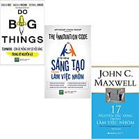 Combo 3 Cuốn Sách:  17 Nguyên Tắc Vàng Trong Làm Việc Nhóm + Kỹ Năng Sáng Tạo Trong Làm Việc Nhóm + Teamwork - Cơ Hội Vàng Hay Cơn Ác Mộng Trong Thời Đại 4.0