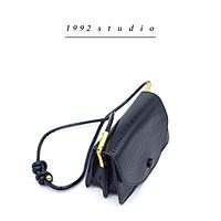 Túi xách nữ/ 1992 s t u d i o/ SAMI BAG / màu đen kẹp nách đeo chéo tuy chỉnh