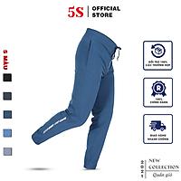 Quần Jogger Nam 5S (5 Màu) Vải Gió Mềm Mại, Dáng Thể Thao, Bo Ống Trẻ Trung, Lưng Chun Thoải Mái (QGD21012)