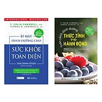 Combo Bí Mật Dinh Dưỡng Cho Sức Khỏe Toàn Diện (Tái bản lần 2) + Toàn Cảnh Dinh Dưỡng Thức Tỉnh Và Hành Động Tặng kèm Bookmark