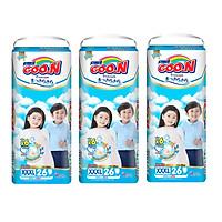 Combo 3 Gói Tã Quần Goo.n Premium Gói Cực Đại XXXL26 (26 Miếng)
