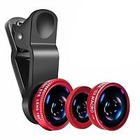 Bộ Ống Lens Chụp Hình Cho Điện Thoại Universal Clip Lens 3 In 1 (PVN644, PVN645, PVN646)