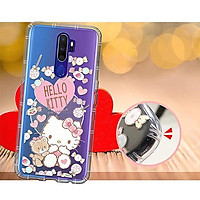 Ốp điện thoại OPPO A5 2020/A9 2020 Hello Kitty ép chân không (búp bê cắn tay)