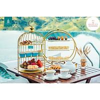 Khay Bánh Lồng Chim Gold 40cm
