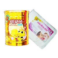 Sữa bột công thức dinh dưỡng PEDIA KIDS 900G CBSPK2020- Tặng 1 khăn khô 300 tờ Sunbaby