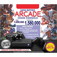 Máy điện tử chơi game console cổ điểm kết nối PC + TV hơn 4000 games Bộ điều khiển chơi game tay cầm không dây Joystcik