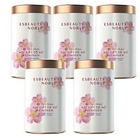 Năm hộp Thực phẩm Esbeauty Noble bổ sung các chất và dinh dưỡng tốt dành cho phụ nữ