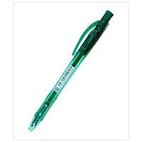 Bộ 2 Bút Bi Bấm STABILO BP308F-GN-Liner (F) 0.7mm - Xanh Lá