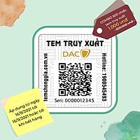Bộ 500 chiếc tem - qr-code - truy xuất nguồn gốc