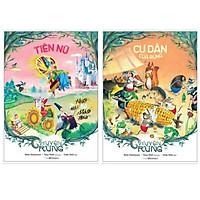 Combo 2 cuốn chuyện rừng: Tiên Nữ + Cư Dân Của Rừng ( Bộ chuyện vui nhộn,đầy màu sắc dành cho các bé)