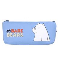 Hộp Bút Vải Canvas We Bare Bears - Magic Channel - Mẫu 1