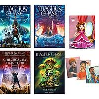 Combo 4 Tập: Magnus Và Các Vị Thần Asgard (Tặng Kèm Vở Và 3 Postcard)
