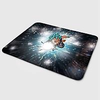 Miếng lót chuột mẫu Goku Chưởng (20x24 cm) - Hàng Chính Hãng