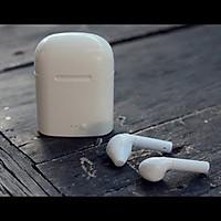 Combo: Tai Nghe Kiểu Dáng Airpods Bluetooth i8S TWS + Hộp Đựng Tai Nghe Silicon