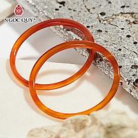 Combo 2 vòng tay đá mã não đỏ mảnh mệnh hỏa thổ - Ngọc Qúy Gemstones