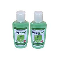 Combo 2 chai gel rửa tay khô Hapicare Trà Xanh 60ml
