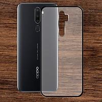Ốp lưng Oppo A5 2020 - Bề mặt nhám chống vân tay, lưng cứng, viền TPU dẻo - 02130 - Hàng Chính Hãng