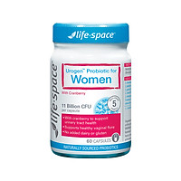 Men vi sinh Australia LIFE SPACES Urogen Probiotic For Women 60 capsules