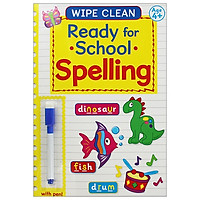 Wipe Clean Ready For School Book With Pen: Spelling Book 3