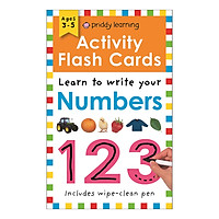 Activity Flash Cards Numbers - Activity Flash Cards (Paperback)