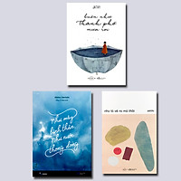 Combo 3 cuốn: Buồn Như Thành Phố Mưa Rơi + Như Mây Bình Thản, Như Nước Thong Dong + Như Là Vẽ Ra Mà Thôi