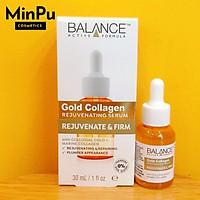 Balance Active Formula Gold+ Marine Collagen Rejuvenating Serum - tinh Chất Dưỡng Da Căng Bóng, Dành cho da Lão Hóa 30ml (Made in UK)
