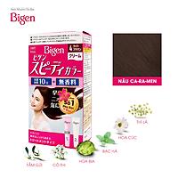 Thuốc nhuộm dưỡng tóc phủ bạc thảo dược Bigen Nhập Khẩu 100% Nhật Bản Speedy Color Cream 80ml dạng kem
