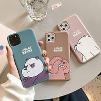 Ốp Điện Thoại Mềm Hình We Bare Bears Cho Iphone 11 Pro 6 6s 7 8 Plus X Xs Max Xr