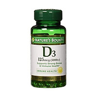 Viên bổ sung vitamin Vitamin D3 by Nature's Bounty