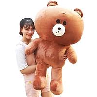 Gấu Bông Brown 1m2 khổ vải cao 1m dễ thương